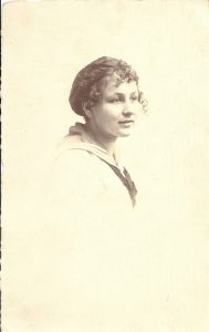 Carola Dunkel 1915