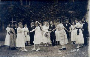 Hochzeit 23.09.1920 Eugen Kuther und Carola Dunkel