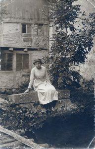 Carola Dunkel am Mühlgraben