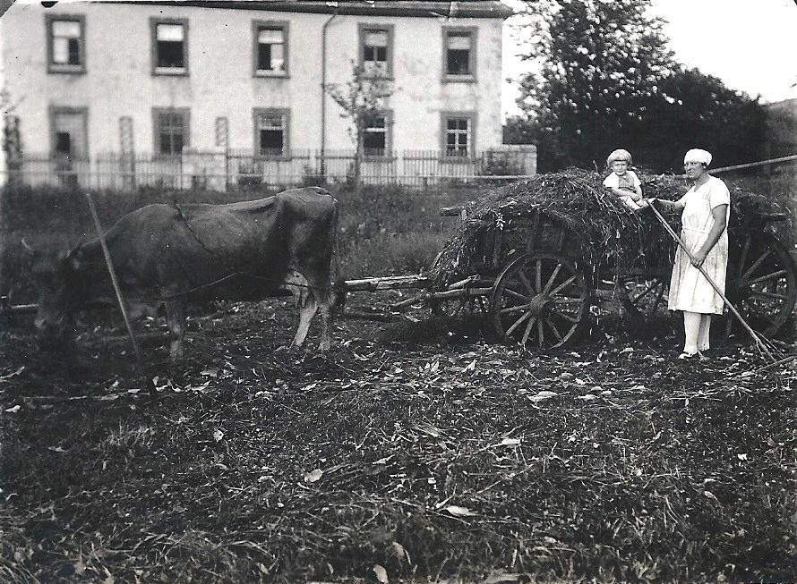 Edgar Kuther um 1930 mit Hilda Dunkel