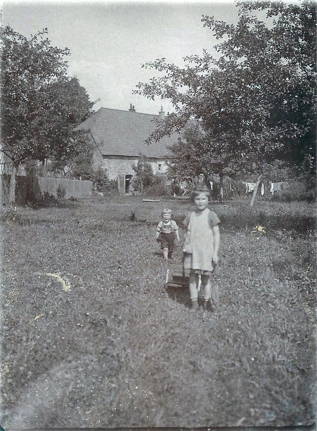 Schneidmühle um 1930 von hinten