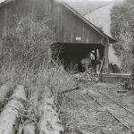Holzstraße und Mühle