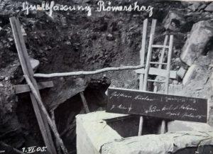 Quellfassung Wasserleitung 1905