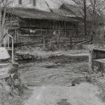 Mühle mit Furt und Steg