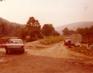 Nach Abriss 1977 ehem. Standort Schneidmühle
