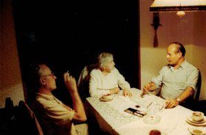 Edgar Kuther, Carola Kuther, geb. Dunkel und Winfried Kuther 1988.