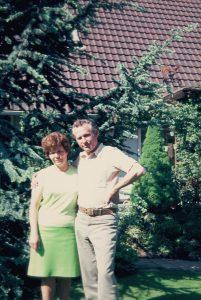 Edgar und Gertrud Kuther 1974