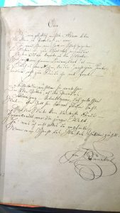 "Joseph Dunkels Gedicht ""Eva"""